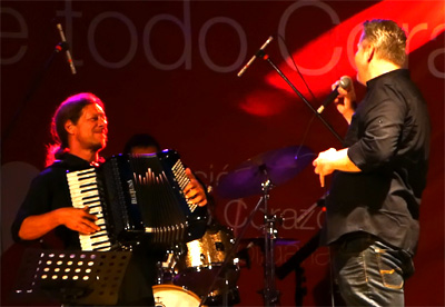 Avec Beat Kaestli à Mendoza, Argentine