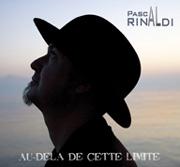 Pochette de l'album de Pascal Rinaldi 'Au-delà de cette limite'
